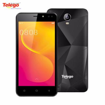 Telego Mobile Nova 1 Android 6.0/ 1GB RAM+ 8GB ROM 5.0 IPS Display (Black) with FREE Jelly Case