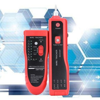 Telephone Wire Tracker Tracer Network Cable Tester Detector LineFinder - intl