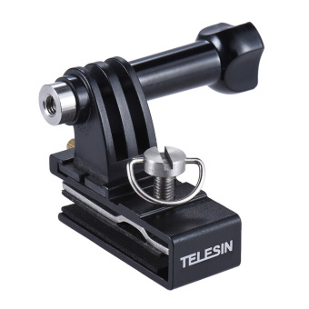 TELESIN Baseball Head Cap Hat Backpack Clip Clamp Mount AdapterSupport for GoPro 4/3+/3/2 for SJCAM Xiaomi Yi Action Sports CameraAccessories - intl - 5