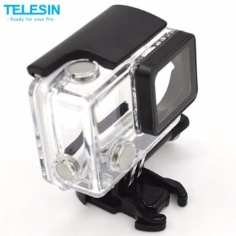 Telesin Standard Waterproof Case for Gopro HERO4, HERO3+, up to 40munderwater