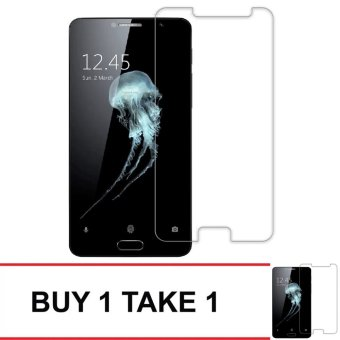 Tempered Glass For Alcatel Flash Plus 2 Buy 1 Take 1 (Clear)