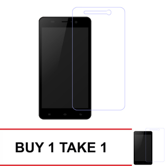Tempered Glass For Myphone My32 Buy 1 Take 1 (Clear)