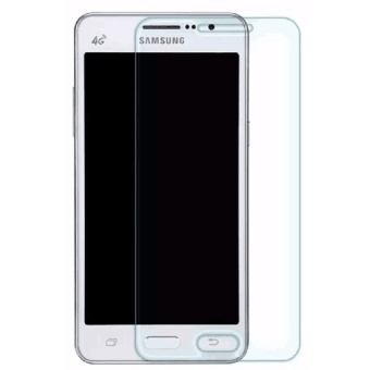 Tempered Glass For Samsung Galaxy Grand Prime G530 (Clear) With Free Tempered Glass (Clear)
