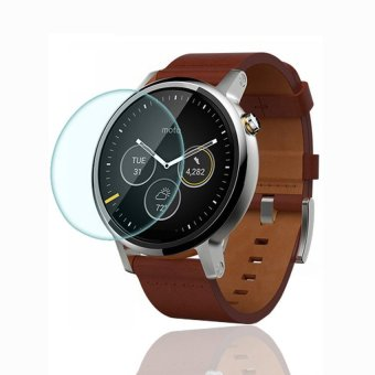 Tempered Glass LCD Screen Protector Film for Motorola Moto 360 2nd46mm Clear