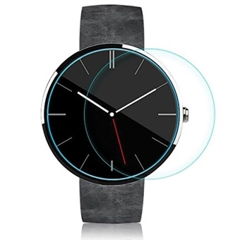 Tempered Glass Screen Protector Cover Film for Motorola Moto 360Smart Watch 46MM - intl Price Philippines