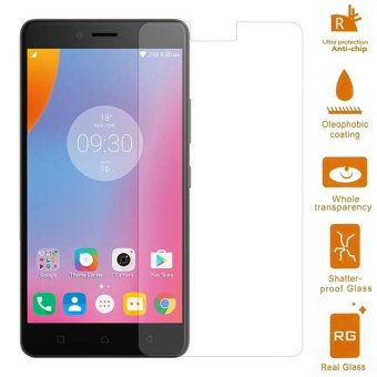 Tempered Glass Screen Protector Film 0.3mm for Lenovo K6 Note (Arc Edge) - intl