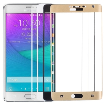 Tempered Glass Screen Protector for Samsung Galaxy Note Edge (White)
