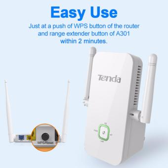 TENDA A301 300mbps Wireless WiFi Range Extender/Repeater/Booster.