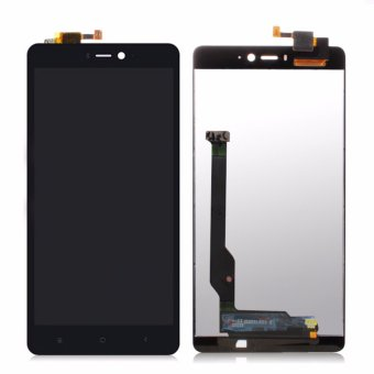 Tested LCD Digitizer Display Complete Touch Screen LCD Panel Display Replacement Spare Parts for Xiaomi Mi4C Mi 4C - intl