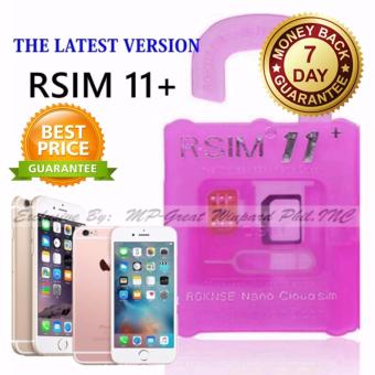 The Latest High Quality R-SIM 11+ Mobile 4G Phone R-SIM The BestUnlock and Activation SIM for iPhone 5/5C/5S/6/6Plus/7/7Plus Price Philippines