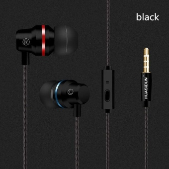 The New Metal Headset Bass G80 Into The Ear with Microphone - intl Price Philippines