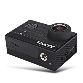 ThiEYE T5e WiFi 4K 30fps Action Camera 12MP Built-in 2 inch TFT LCD Screen Time-Lapse Videos Ambarella A12LS75 Chipset - intl - 2
