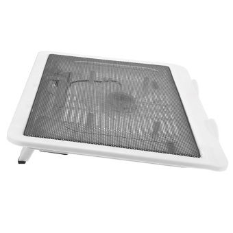 Thin USB Cooler Pad Mat with 140mm LED (White) - picture 2