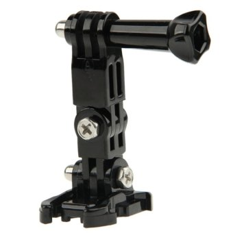 Three Way Adjustable Pivot Arm with Mount for GoPro and SJCAM