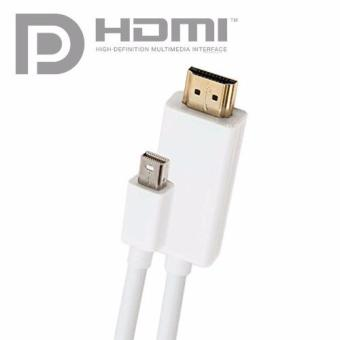Thunderbolt / Mini-DisplayPort Male to HDMI Male Video Cable White(1.8 Meters)