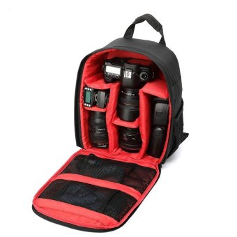 Tigernu T-C6003 Waterproof New Pattern DSLR Camera Bag Backpack Video Photo Bags For Camera - intl