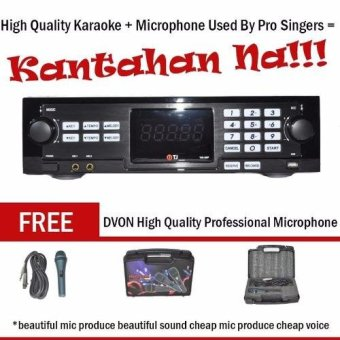 TJ Media TKR-305 HDD Karaoke Player with FREE DVON ProfessionalKaraoke Microphone Price Philippines