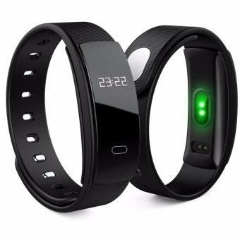 Top Starlight QS80 Bluetooth Smart Band Bracelet Wristband Heart Rate Sedentary Reminder Sleep Monitoring for IOS Android Smartphone - intl
