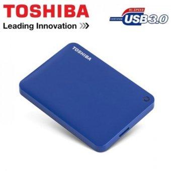 Toshiba Canvio Connect II V8 1TB USB 3.0 Portable Hard Drive(Liquid Blue) - 3