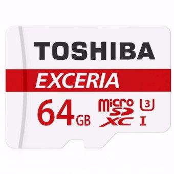 Toshiba THN-M301R0640C4 Exceria 64GB Micro SDXC Card
