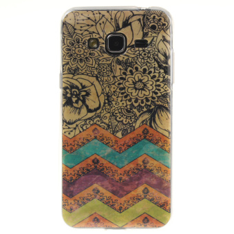 TPU Back Phone Case for Samsung Galaxy J3 (2016) (Multicolor) -intl