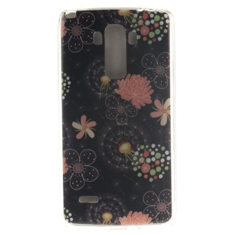 TPU Flexible Soft Case for LG G Stylo / LG G4 Stylus LS770(Colorful Flowers) - intl