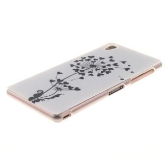 TPU Flexible Soft Case for Sony Xperia Z3 (Dandelion) - intl - 2