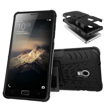 TPU + PC Armor Hybrid Case Cover for Lenovo Vibe P1 (Black)