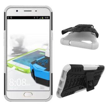 TPU + PC Armor Hybrid Case Cover for OPPO F1S (White) - 2