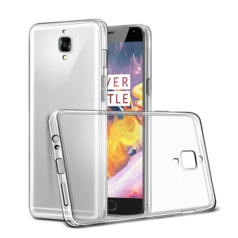 TPU Protective Transparent Back Case Slim Crystal Clear ShockProof Back Cover For OnePlus 3T - intl