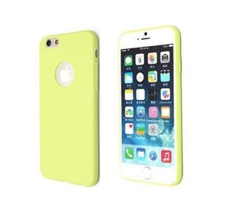 Tpu Silicon Candy Style Soft Case Cover For Iphone 5S / Iphone Se(Green)