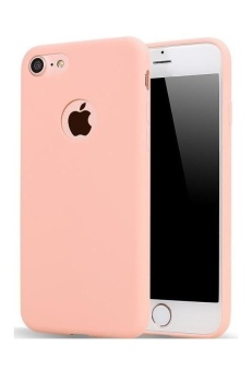 TPU Silicon Candy Style Soft Case Cover for Iphone 6 (Pink)