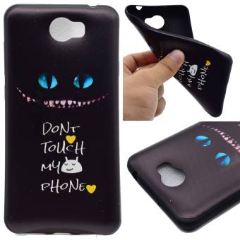 TPU Silicone Case Cover for Huawei Y5 II / Y5 2 (Don't Touch My Phone) - intl