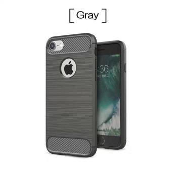 TPU Soft Carbon Fiber Shockproof Cover Case For IPhone 6/6s Price Philippines
