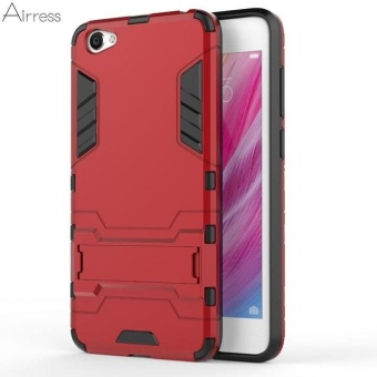 TPU/PC 2 in 1 Armor Rugged Military Grade Phone Case Cover for VivoY55 Y55s - intl