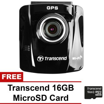 Transcend DrivePro 220 Dash Car Camera with Free Transcend 16GBMicroSD Card