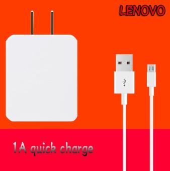 Travel / Home Quick Charger For Lenovo Quick Charger Smart PhoneWhit USB Cable-1A Price Philippines