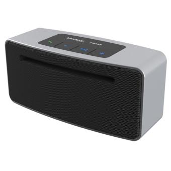 Trendwoo Beat It Stereo HiFi Bluetooth Speaker (Silver)