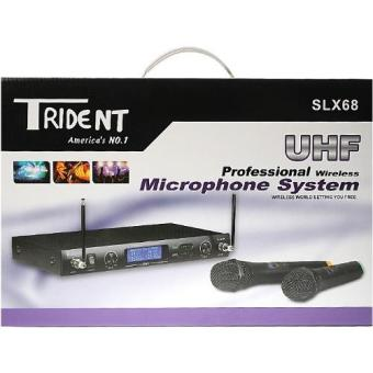 Trident SLX68 Dual Channel UHF Wireless Handheld Microphone