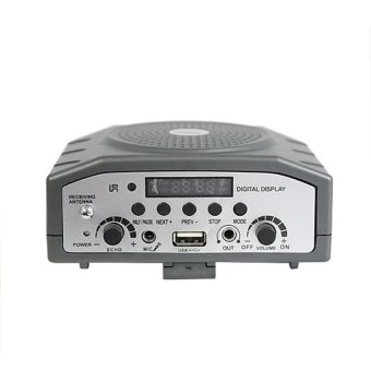 Trident TRA-818 Portable Body Pack Amplifier with Headset and LapelMic - 4