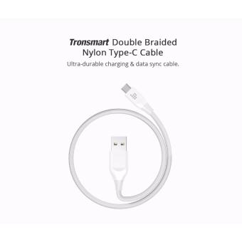 Tronsmart ATC5 Double Braided Nylon USB-C to USB-A Kevlar FiberCable White Price Philippines