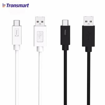 Tronsmart CC05P 1.8m USB 2.0 Type-C Male to USB-A Male Sync andCharging Cable Set of 2 (Black/White)