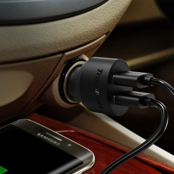 Tronsmart CC2TF Quick Charge 3.0 36W 2 Port Car Charger - 5