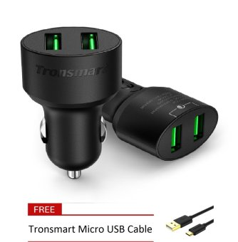 Tronsmart CC2TF Quick Charge 3.0 36W 2 Port Car Charger