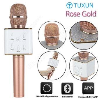 Tuxun Q7 Bluetooth Wireless Portable Karaoke Microphone and Speaker