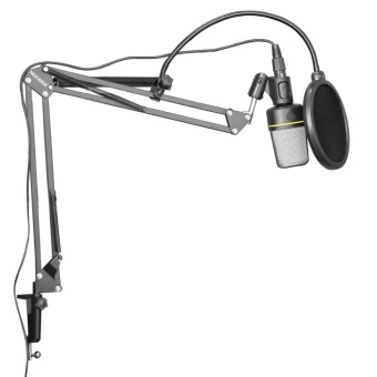 Tv, Audio / Video, Gaming Wearables Microphone Accessories Nb-35Broadcasting Studio Microphone Mic Stand Boom Scissor SuspensionArm Mount Shock - intl Price Philippines
