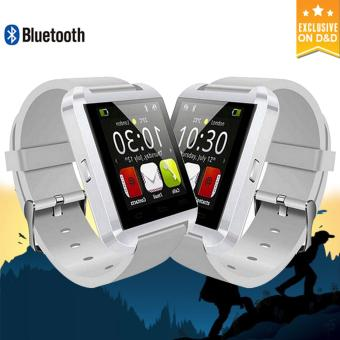 U8 Bluetooth Smartwatch Buy One Take One(White) Price Philippines