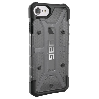 UAG Plasma Series Tpu Rubber Case For Iphone 6 (Black) With Free3-In-1 Charger Adaptor