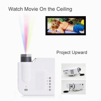 UC28+ HD Mini Projector Portable Simplified Micro Projector 1080pAndroid Phone - intl