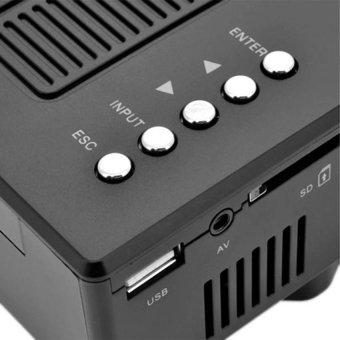 UC28A Mini Pico Projector Home Cinema Theater Digital LED LCDProjector VGA/USB/SD/AV/HDMI Multimedia Projecyor - intl - 4